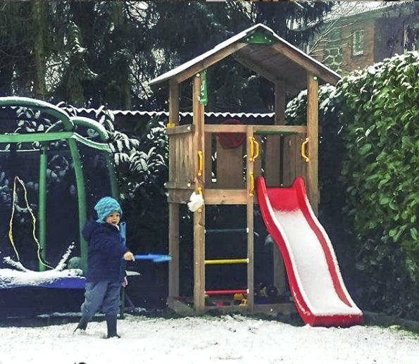 How to make your garden and your Jungle Gym winterproof!