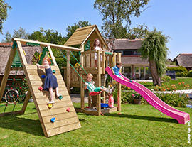 Climbing frames with climb